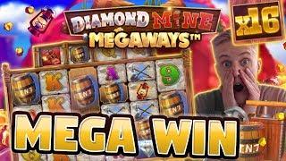 BIG WIN!!! Diamond Mine BIG WIN - Huge win - Casino games (Online slots)