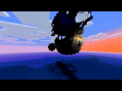 Minecraft cinema – The Flying Ship