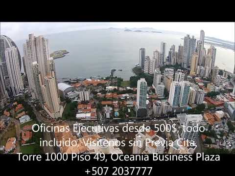 Oceania Business Center Vuelo de Drone en Panama