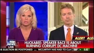 Sen. Rand Paul Appears on Fox's The Real Story with Gretchen Carlson - October 8, 2015