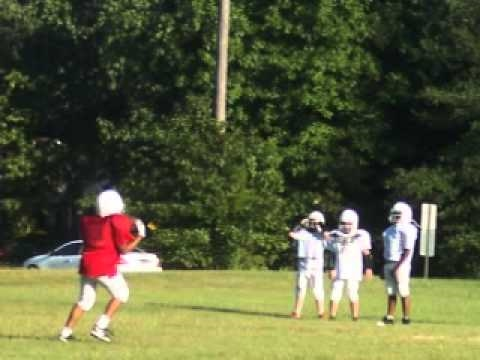 steelers pee-wee practice Video