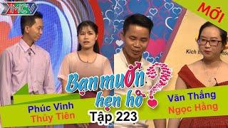 Phúc Vinh - Thủy Tiên | Văn Thắng - Ngọc Hằng | BẠN MUỐN HẸN HÒ | Tập 223 | 27/11/2016
