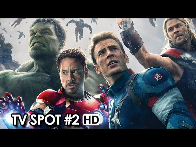 Avengers: Age of Ultron TV Spot #2 (2015) - Avengers Sequel Movie HD