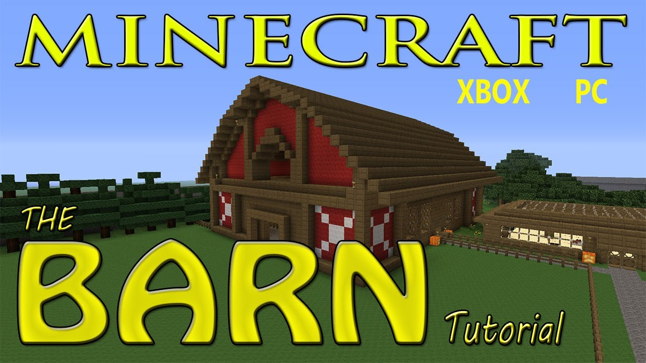 Blueprints For A Barn In Minecraft
