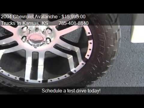 2004 Chevrolet Avalanche 1500 4WD - for sale in TOPEKA, KS 6