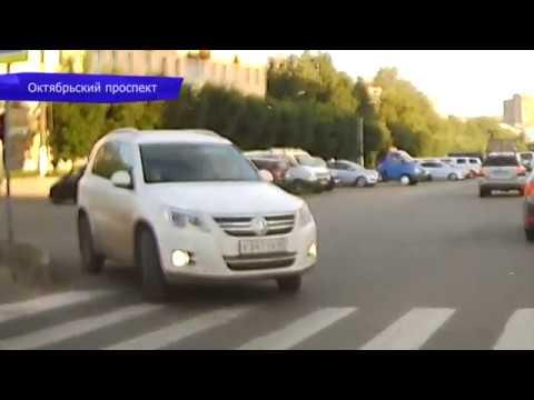 Видеорегистратор. ДТП Фольксваген врезался в Ниву. Место происшествия 22.08.2017
