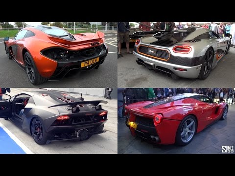 BEST Supercar Startup SOUNDS - LaFerrari, P1, 918, One:1, Everything!