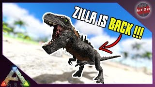 ZILLA IS BACK...BUT AT A COST !!   JURASSIC ARK   ARK SURVIVAL EVOLVED [EP41]