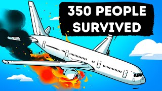 The Plane Caught Fire But Pilots Did Something to Save 350 People