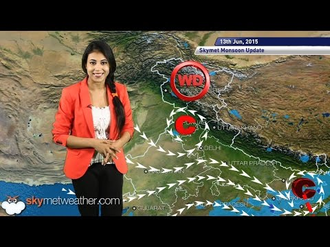 13 June, 2015 Monsoon Update: Skymet Weather