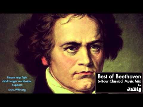 6 Hour of The Best Beethoven -  Classical Music Piano Studying Concentration Playlist Mix by JaBig Music Videos