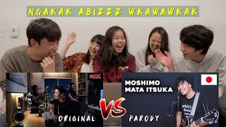 "REAKSI TEMEN"" JEPANG DENGERIN LAGU MOSHIMO MATA ITSUKA by ARIEL! ASIKKKK!!"