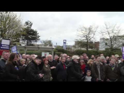 Solidarity in London as Glasgow Trinity Mirror journalists strike