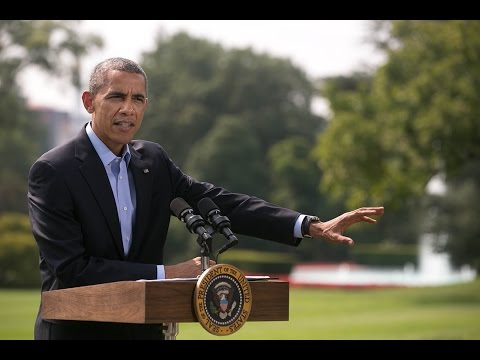 President Obama Gives an Update on the Situation in Iraq