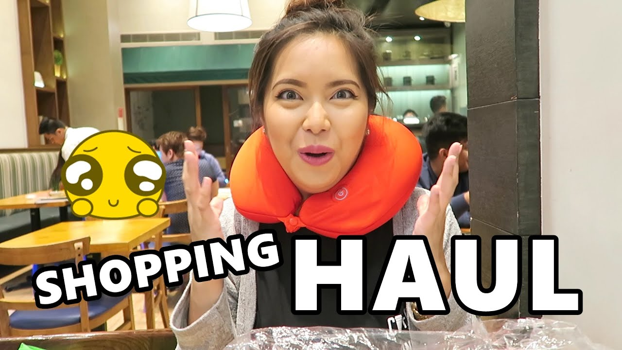 SHOPPING HAUL (July 9, 2016) - saytioco