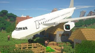 Minecraft, But There Are Planes