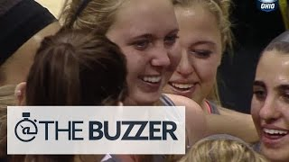 Lauren Hill scores first points for Mount St. Joseph in emotional game