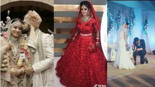 Part-8 Newly Married 👰 Couples Trending Tiktok Video| Beautiful Brides Dancing Video|Musically Vide
