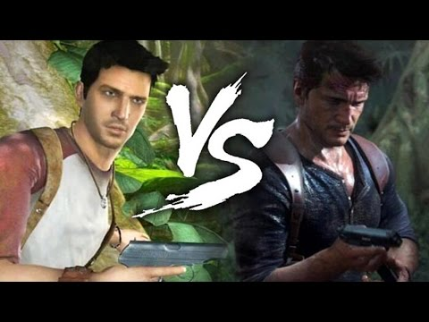 Uncharted VS Uncharted 4