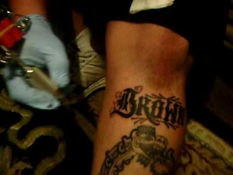 my tattoos BROWN PRIDE