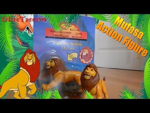 Lion King Mattel Mufasa Figure Review