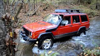 Mountain Camping and Wheeling - Jeep Cherokee XJ