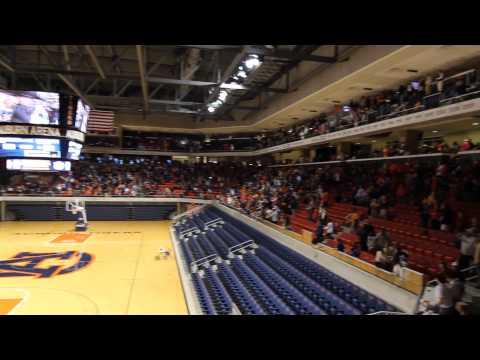 IRON BOWL 2013: Chris Davis' last play reactions at Auburn Arena