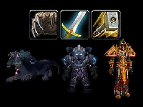 World of Warcraft PvP/PvE - 3v3 Kitty Cleave vs. Frost Mage/Unholy DK/RSham