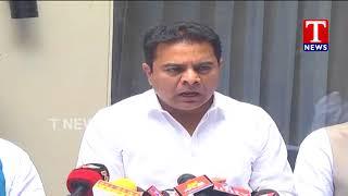 Minister KTR Press Meet - Hyderabad  live Telugu - netivaarthalu.com
