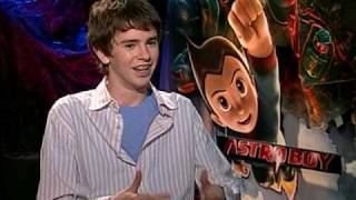 "Freddie Highmore interview  ""Astroboy""2"