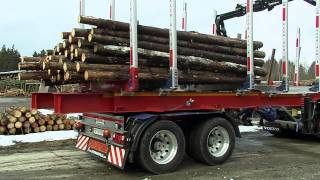 FAYMONVILLE TimberMAX - the lightweight for the transport of long or short timber