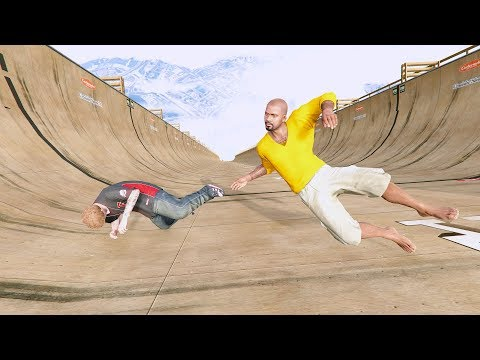 GTA 5 Crazy Jumper/Building Fall compilation (GTA 5 Funny Moments/Ragdolls)