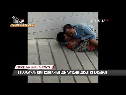 Detik-detik Korban Ledakan Gudang Petasan Selamatkan Diri