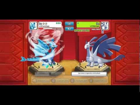 EPIC Fight with Legendary Dragons 2 Gold Stars in Dragon City