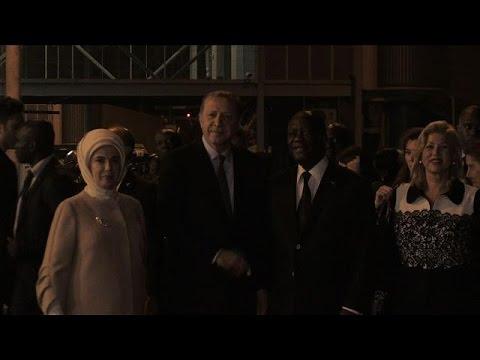 Turkish President visits the Ivory Coast