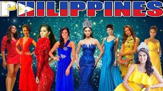MISS UNIVERSE PHILIPPINES (2010 - 2018)