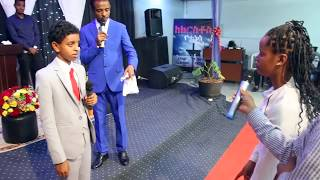 Amezing Prophecy & Healing with 13 years old boy  Brook Tesfahun & man of God Tesfahun mulualem