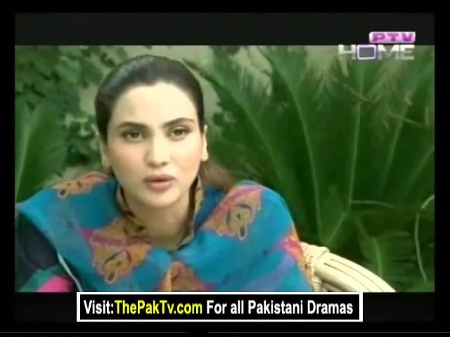 Qandeel baloch and fiza ali in ptv drama serial ( muhabbat wehm hay )
