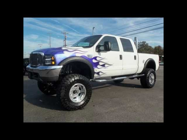 2001 Ford F250 Diesel Lifted Truck For Sale