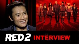 Byung Hun Lee Interview 2013 - Red 2 : Beyond The Trailer