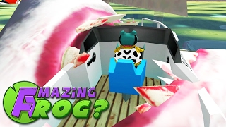 SHARK VS REMOTE CONTROL BOAT - Amazing Frog - Part 85 | Pungence