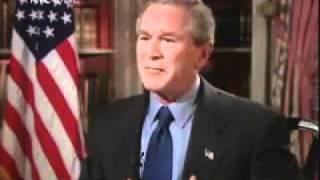 Banned Bush Interview gets Very Revealing