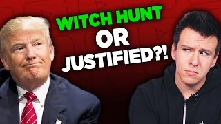 "People Outraged Over Now-Deleted Video and The Trump ""Witch Hunt"" Rabbit Hole"