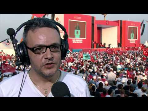 Demokrasi ve Şehitler Mitingi Henri Çiprut & TRT World söyleşisi