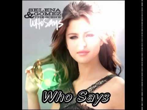 Selena gomez who says lyrics hd full song youtube