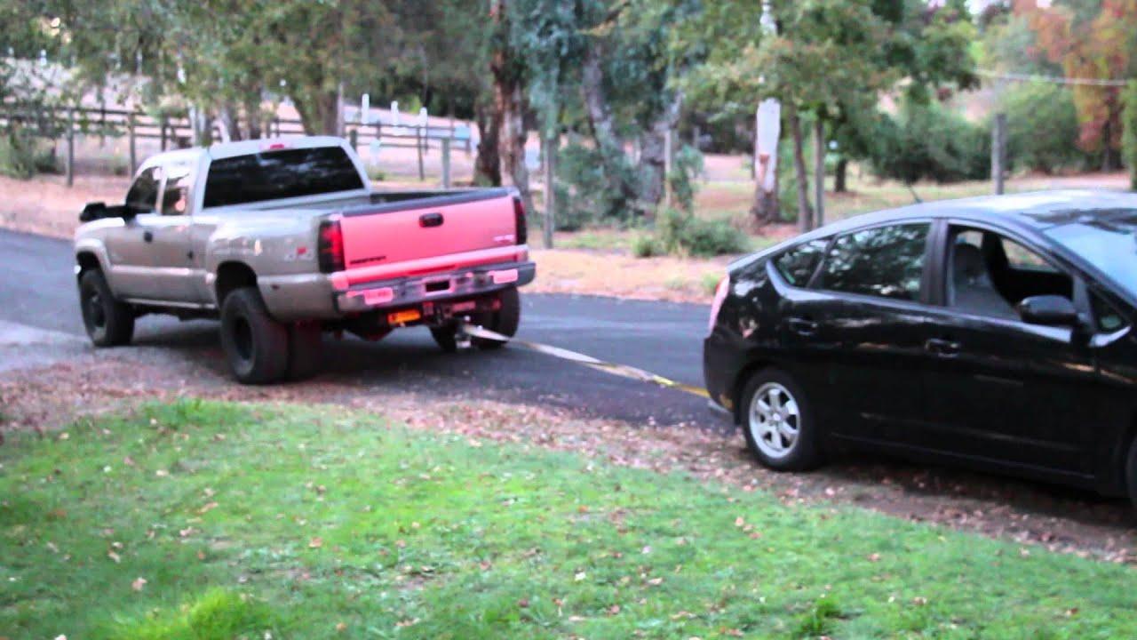 Duramax Diesel Drags Prius Youtube