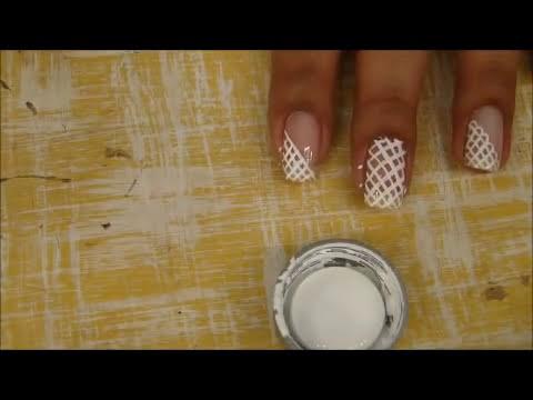 Tutorial unhas decoradas rendinha