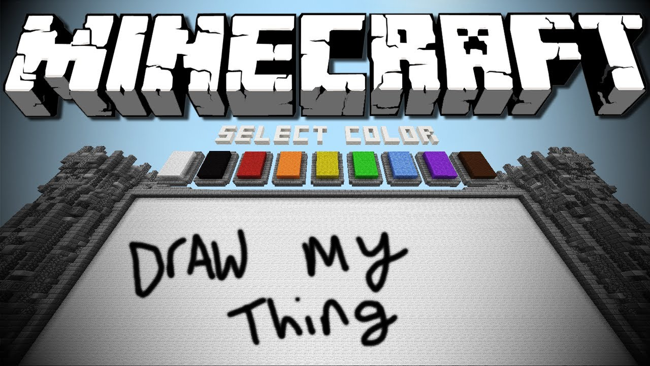 Draw my Thing Drawings Minecraft Draw my Thing hd
