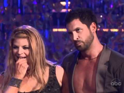 60 yr old Kirstie Alley & Maksim Chmerkovskiy- Dancing with the Stars Part 10 End of SHOW!!