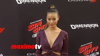 Jamie Chung | Sin CIty A Dame to Kill For | Los Angeles Premiere